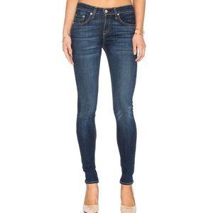Rag & Bone High Rise Skinny Stretch Jeans Size 29